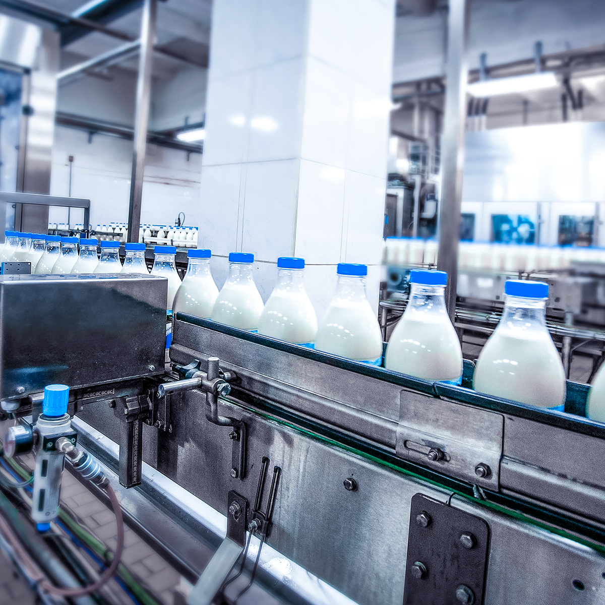 Compare and monitor the energy efficiency of production lines