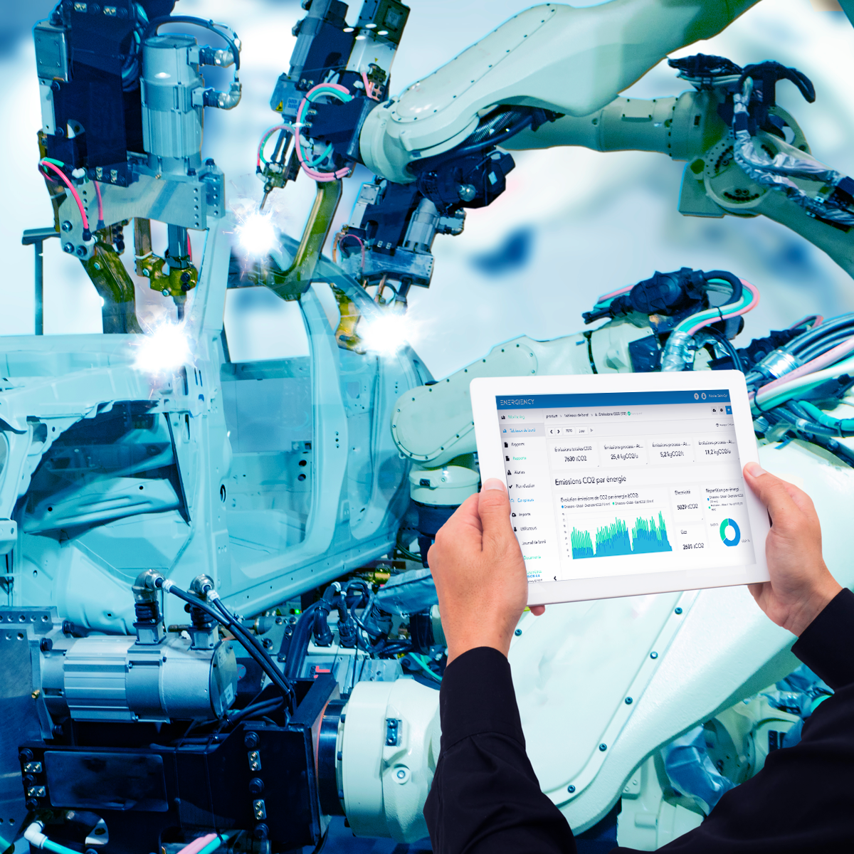 Our software for analysing and managing energy performance in industry